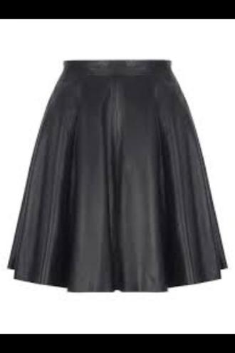skirt black skirt black leather skirt
