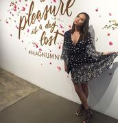 dress,jamie chung,blogger,sandals,summer dress,summer,black and white,fit and flare dress,flare dress,floral,floral dress