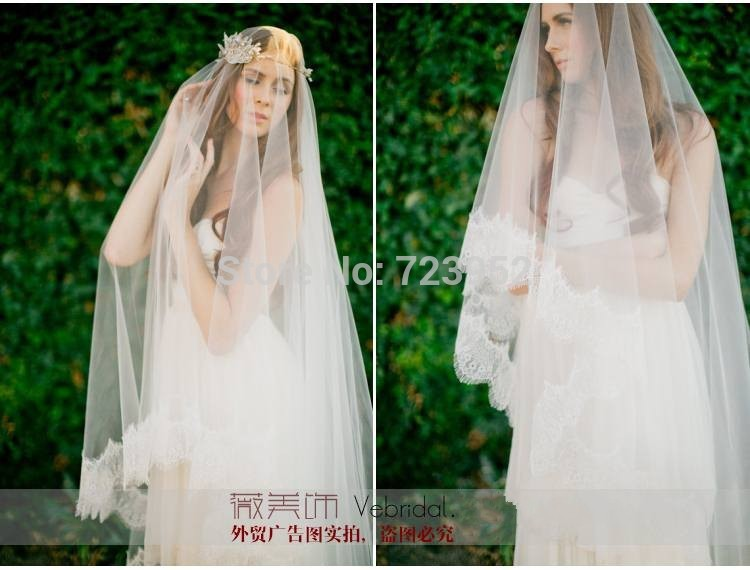 Aliexpress.com : buy wholesale free shipping wedding accessories lovely wedding bridal veils bridal accessories ivory high quality lace veils from reliable bridal veils suppliers on suzhou aee wedding dress co. , ltd