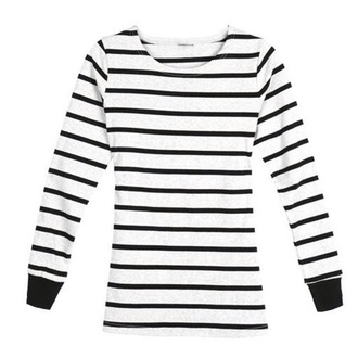 shirt pattern casual black and white long sleeves cotton