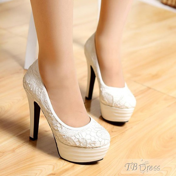 crochet high heels tbdress-club tbdress platform shoes stilettos