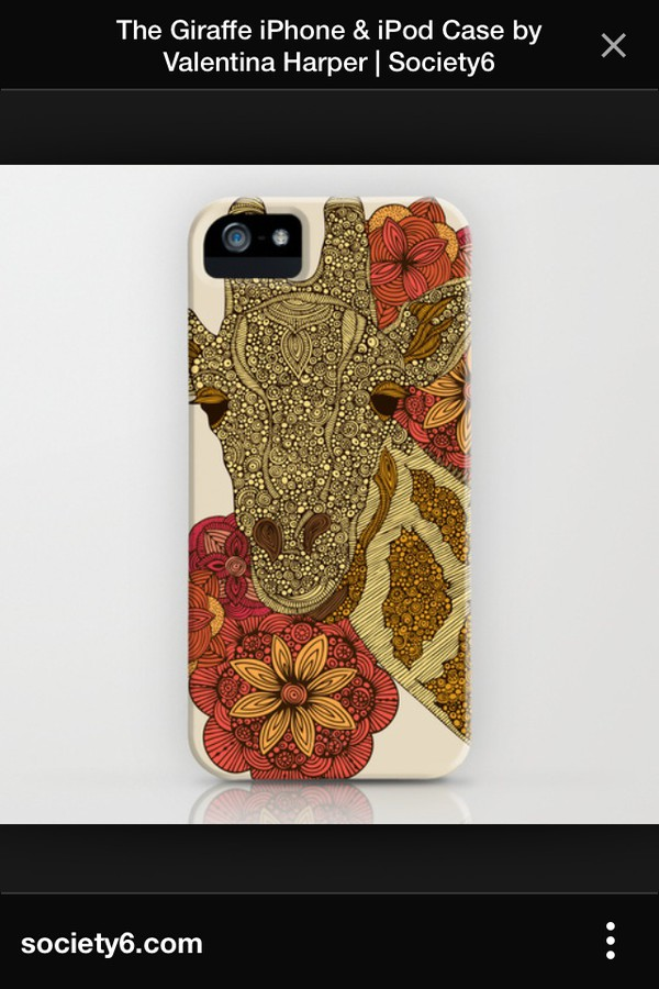 phone cover giraffe phone cover iphone 4 case african american floral