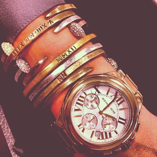 jewels bracelets roman numerals jewelry