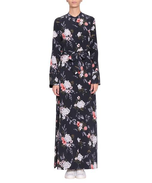 dress silk dress silk multicolor