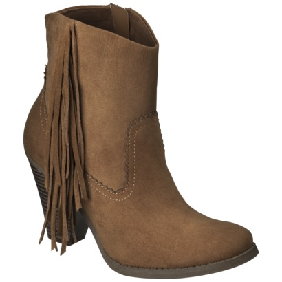 Women's Mossimo Supply Co. Karmi Fringe Western ... : Target