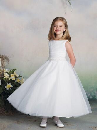 dress kids dress white