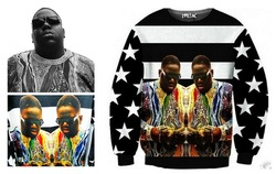Online Shop Free shipping 2014 new spring men hoody  tupac 2pac hoodies 1991 inc notorious b . i . g stripe vintage outdoor sweatshirt |Aliexpress Mobile