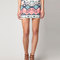 Bershka united kingdom - bershka multiple print skirt