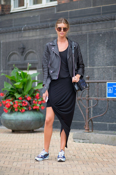black skirt black skirt asymetric skirt pencil skirt