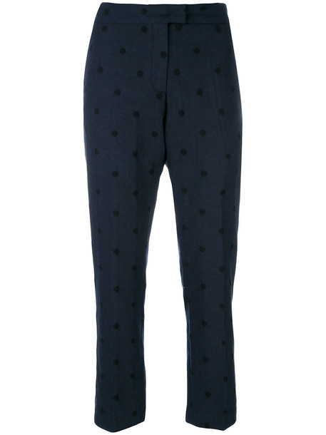 PS By Paul Smith women cotton blue pants