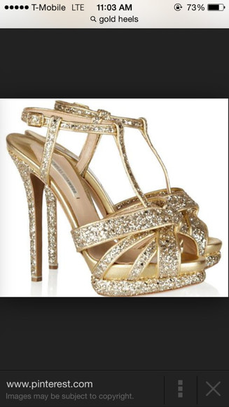 cute gold high heels cute high heels