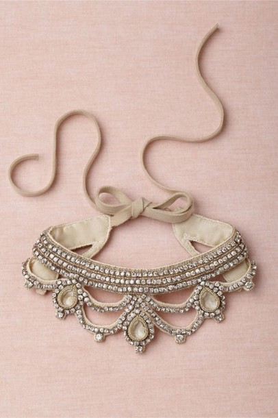 jewels choker necklace