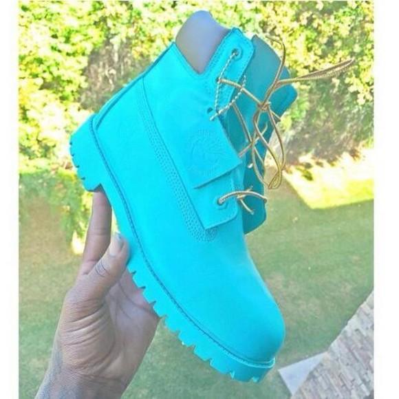 blue baby blue timerlands sky blue timberland boots studded