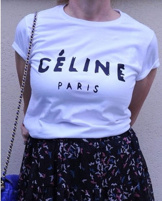 celine celine paris shirt celine paris tshirt t-shirt celine paris t shirt celine paris tee shirt