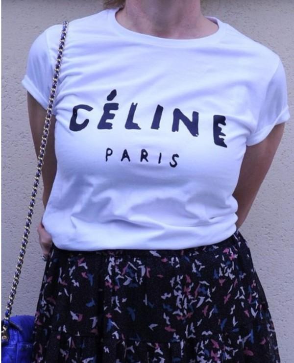 celine celine celine paris shirt celine paris tshirt t-shirt celine paris t shirt celine paris tee t-shirt shirt