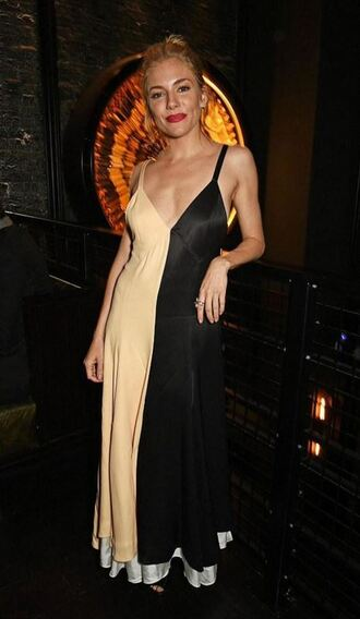 dress sienna miller gown prom dress