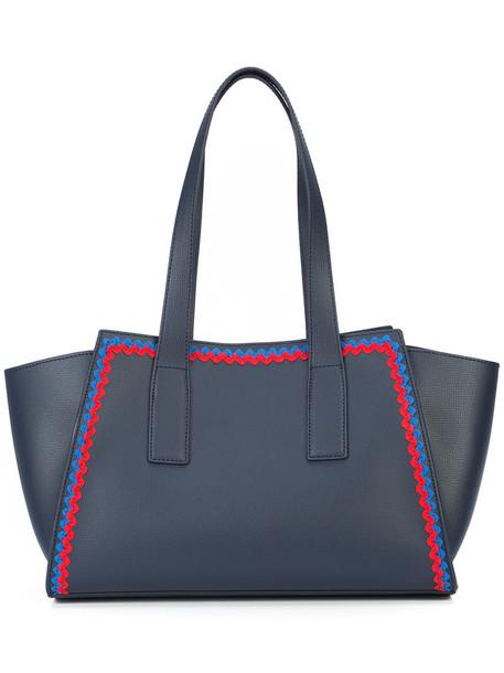 Loeffler Randall women blue bag