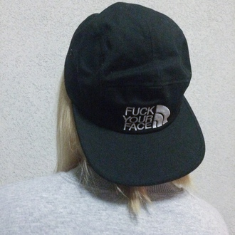 hat black black hat white accessories the  north  face