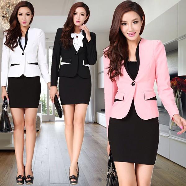 jacket rose black women's clothing pink korean fashion