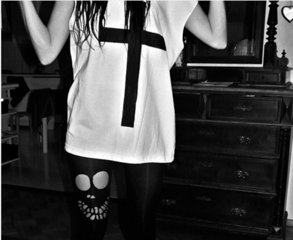 cross shirt leggings tanktop pants