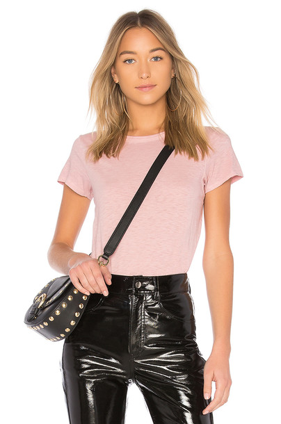 Rag & Bone/JEAN pink top