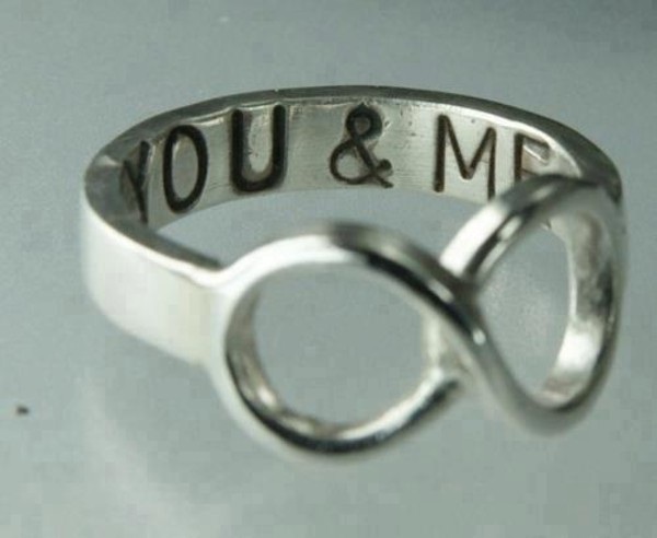 jewels you & me ring infinity ring
