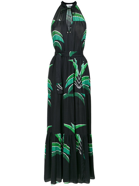 AMIR SLAMA dress long dress long women print black
