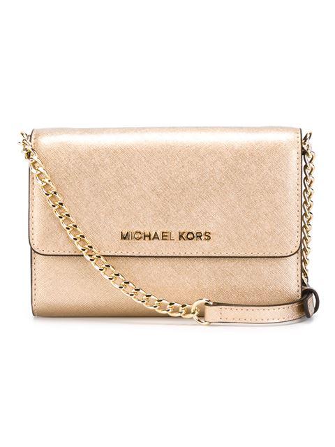 6bffdac78635 Michael Michael Kors 'jet Set Travel' Phone Crossbody Bag - Five -  Farfetch.com