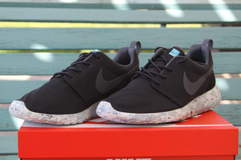 Nike Roshe Run Marble Dark Obsidian