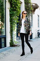 passions for fashion,blogger,jacket,jeans,shoes,t-shirt,sunglasses,bag