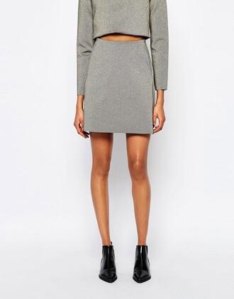 skirt clothes mini skirt asos a line skirt