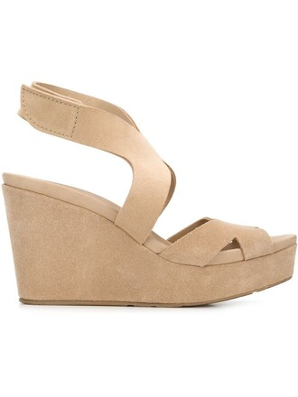 sandals wedge sandals nude shoes