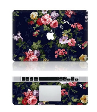 bag laptop macbook case roses apple echnology computer case computer sticker computer accessory