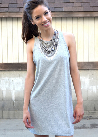 dress shopcivilized gray grey grey dress