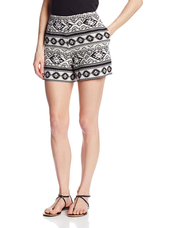 Helene berman women's aztec shorts at amazon women's clothing store: