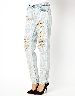 One Teaspoon | One Teaspoon Awesome Baggies Jeans in Spaceboy at ASOS