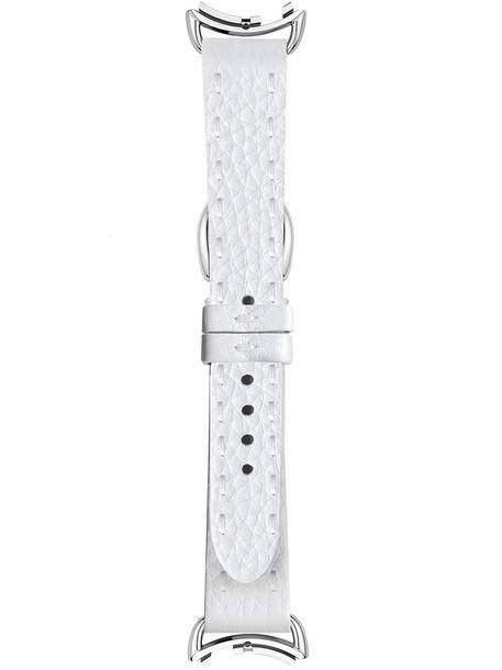 Fendi - watch strap - women - Calf Leather - One Size, Grey in metallic
