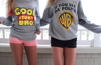 shirt toy story cool story bro sweater