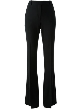 women black silk pants