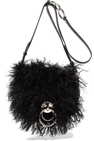 love bag shoulder bag leather black