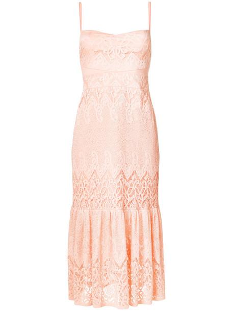 Three Floor dress slip dress women yellow orange