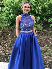 dress,prom dresses 2018,long prom dress,two piece prom dresses,royal blue prom dresses