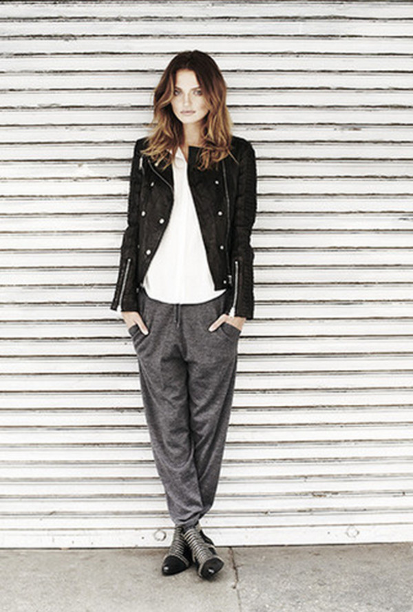jacket anine bing lookbook fashion pants shoes