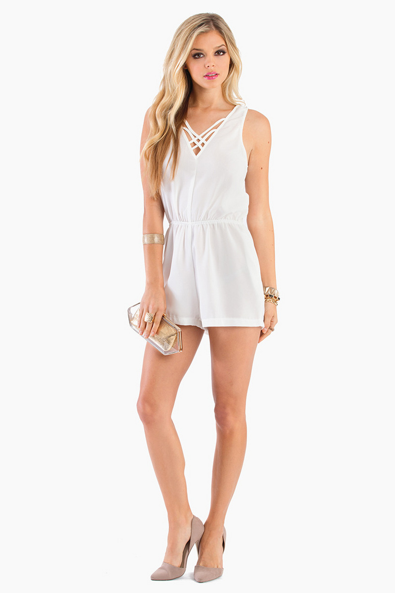 Strapping Young Romper $48