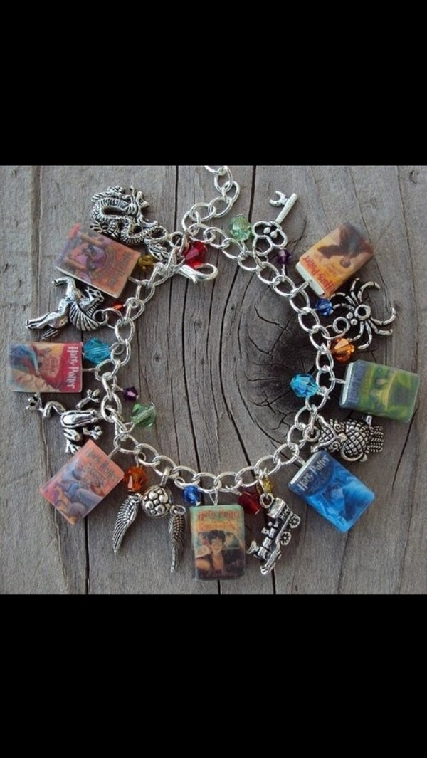 jewels harry potter charm bracelets fashion