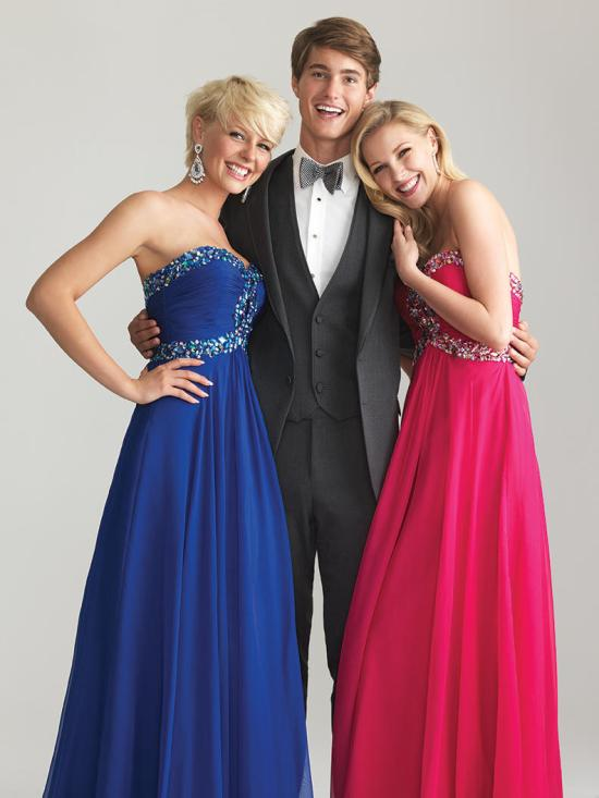 Serendipity Prom -Night Moves 6642 - Plus Size Dresses - NightMoves6642