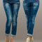 Women's denim street style jeans pants