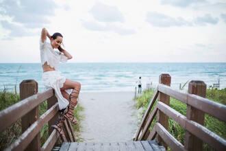 style scrapbook blogger top skirt bag