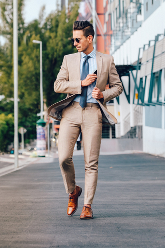what my boyfriend wore blogger jacket shirt pants shoes menswear mens jacket mens pants mens derby shoes mens shirt tie