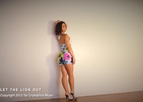 dress halter dress tie neck floral sexy playful video